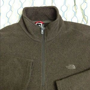 The North Face 1/4 Zip Sweater Pullover TNF XL